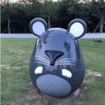 Мышь из стеклопластика