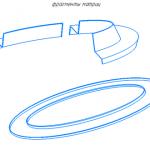 Фрагмент матрицы скамейка - 3D модель