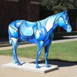Лошадь из стеклокомпозитов