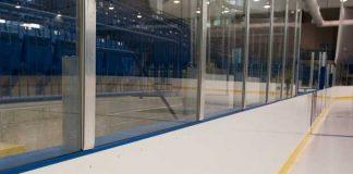 Борт хоккейный из композитных материалов